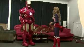 getlinkyoutube.com-Transforming into Iron Man ; Cosplay MK4 ; 2014