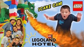 getlinkyoutube.com-LEGOLAND HOTEL Grand Opening in Florida + DRAGON SCARE CAM! (Best Day Ever w/ Amusement Park Fun!)