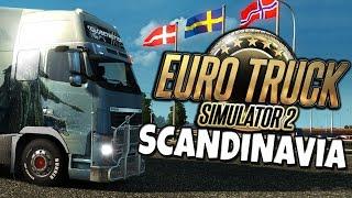 getlinkyoutube.com-Euro Truck Simulator 2 - Scandinavia DLC - Road Trip