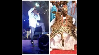 WATCH KING SAHEED OSUPA AS HE PERFORMED GODO SONG WITH FUJI MUSIC STYLE width=