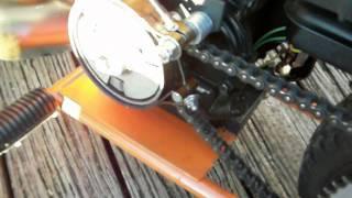 """Mini Bike Brakes in 10 minutes """"Upgrade"""""""