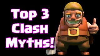 getlinkyoutube.com-Clash Of Clans Top 3 Myths In The Game | Top 3 Clash Of Clans Game Rumors