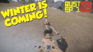 getlinkyoutube.com-WINTER IS COMING! - Dansk Rust Ep. 1 [Rust På Dansk]