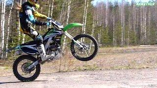 getlinkyoutube.com-KX250F - Spring Ride 2015 (FMF MegaBomb RCT 4.1)