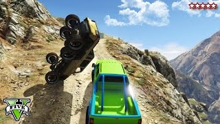 getlinkyoutube.com-GTA 5 OFF-ROADING & ROCK CRAWLING! - CUSTOM 4X4 Trucks GTA 5 - Grand Theft Auto 5 Funny Moments