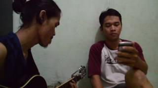Catching feelings - justin bieber (Cover) Rico Ariyanto and Hafiz fadly