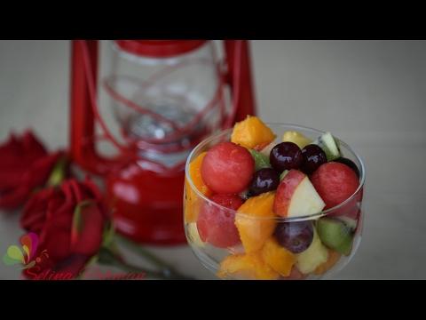 ফলের সালাদ || Fruit Salad || Bangla Recipe || R# 120
