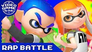 getlinkyoutube.com-Splatoon Rap Battle (Shooter vs. Charger vs. Roller) - Video Game Rap Battle