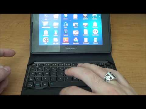 Hands-on BlackBerry PlayBook Mini Keyboard