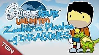 """getlinkyoutube.com-Scribblenauts Unlimited: """"Zombie VS Plantas y Dragones"""""""