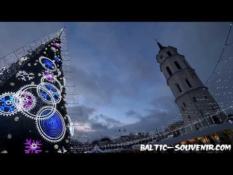 Новый год, Вильнюс, Литва / Naujieji metai, Vilnius, Lietuva / Christmas, Lithuania