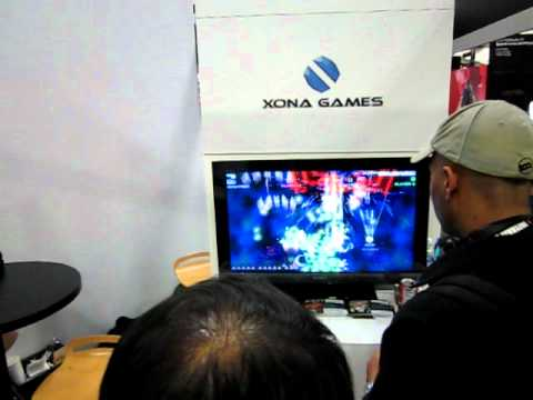 Duality ZF - GDC 2011 - Stage 2 Boss 4 Players (Xbox 360/PC; Shoot'Em Up; Shmup; 2D Shooter; STG)