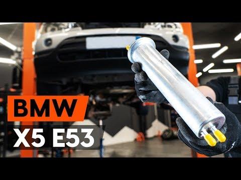 Как заменить топливный фильтр наBMW X5 (E53) (ВИДЕОУРОК AUTODOC)