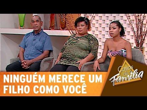 Casos De Família (18/11/14) - Ninguém merece um filho como você!