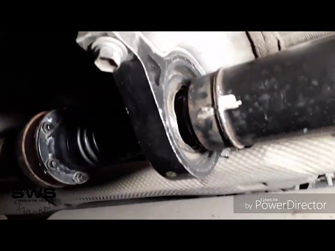 Замена подшипника подвесной опоры карданной передачи Hyundai ix35, Santa Fe, Kia Sportage, Sorento