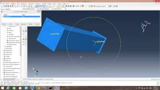 getlinkyoutube.com-Crash test simulation on a square tube using ABAQUS + Energy absorption results