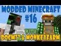 Modded Minecraft Automatic Cake Machine (Pt. 1) - Feed the Beast w/ Docm77 & Monkeyfarm #16