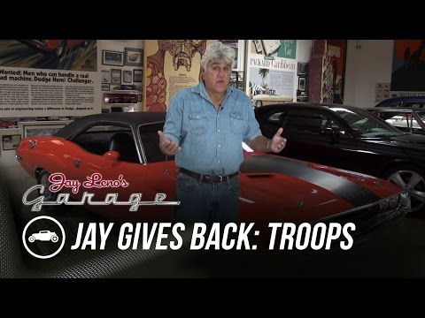 Jay Gives Back to Our Troops - Jay Leno's Garage