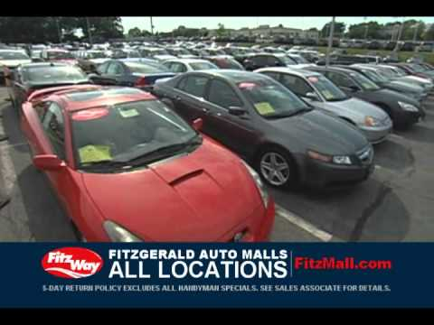Fitzgerald Auto Mall Every Day FitzMall Sale the FitzWay