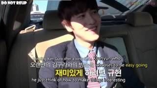 getlinkyoutube.com-ENGSUB 120920 tvN Taxi Kyuhyun Part 1/3 ep 257