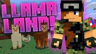 "getlinkyoutube.com-Minecraft - ""WHO'S FAULT IS IT?!"" (Llama Land Server Episode 1)"