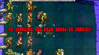 getlinkyoutube.com-Metal Slug Soldiers vs Zombies.