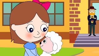 getlinkyoutube.com-Mary Had A Little Lamb + Kids Songs | Nursery Rhymes Playlist for Children & Baby