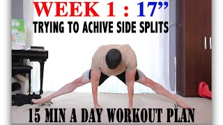 WEEK 01 How to do the splits, for beginners