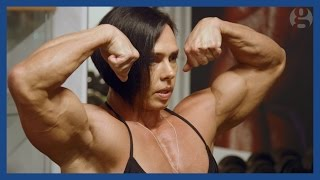 getlinkyoutube.com-My life as a female bodybuilder: it's my body armour | Guardian Docs