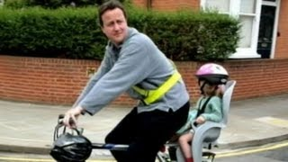 getlinkyoutube.com-U.K. Prime Minister Forgets Young Daughter in Pub: David Cameron Realizes 2 Miles Down Road