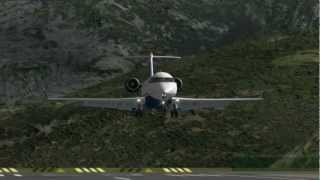 getlinkyoutube.com-MiSO X-Plane Spain La Seu d'Urgell Airport