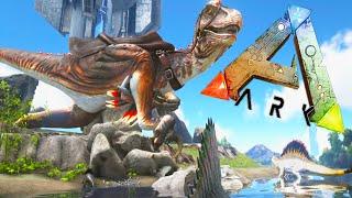 Ark Survival Evolved Mods - TITAN RAPTOR! Alpha Spino! - Dino Overhaul Mod EP2 1080pHD