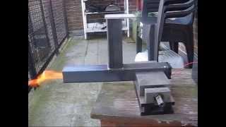 getlinkyoutube.com-Pellet project 2015 Part 1 the burner test