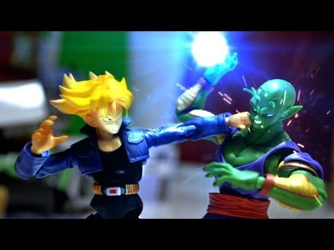 Dragon ball Z Stop Motion - Piccolo VS Trunks -VS