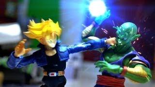 getlinkyoutube.com-Dragon ball Z Stop Motion - Piccolo VS Trunks 七龍珠-比克VS特南克斯