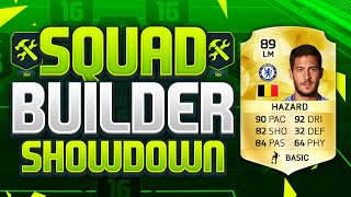 getlinkyoutube.com-FIFA 16 SQUAD BUILDER SHOWDOWN!!! EDEN HAZARD!!! The Highest Rated BPL Player Squad Builder Duel