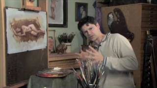 getlinkyoutube.com-Robert Liberace: Painting the Figure in Grisaille, Excerpts