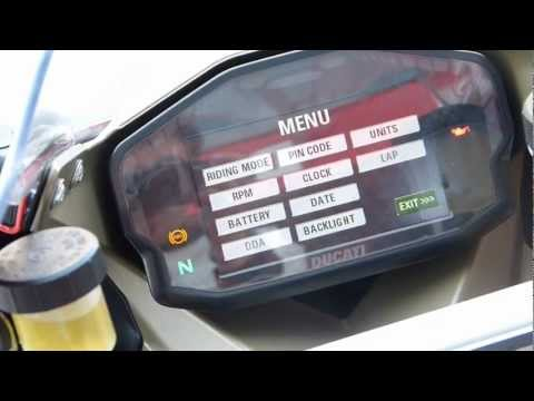 Motorcycle Sport & Leisure: Ducati 1199 Panigale - Electronic Dash Package