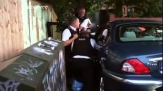getlinkyoutube.com-COPS UK-Baton Strikes.