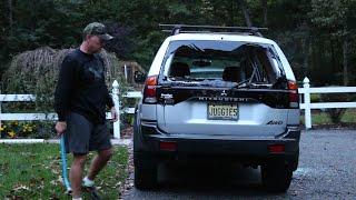 getlinkyoutube.com-Psycho Dad Wrecks Car