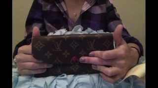 getlinkyoutube.com-Louis Vuitton New Emilie Wallet Unboxing! :D