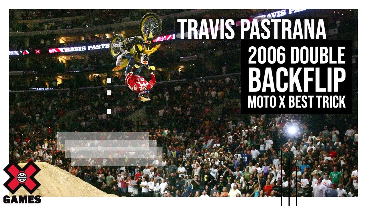 Travis Pastrana: 2006 Double Backflip Moto X Best Trick