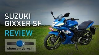getlinkyoutube.com-Suzuki Gixxer SF : ChooseMyBike.in Review