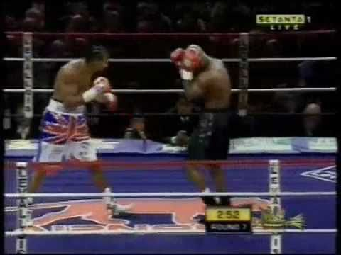 David Haye v Jean Marc Mormeck (7th round highlight)