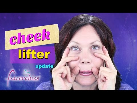 Cheek Lift without Surgery | Glowing Skin Exercise for Saggy Cheeks | Lose Cheek Fat | FACEROBICS®