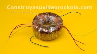 getlinkyoutube.com-Calculation and homemade construction of a Toroidal Transformer
