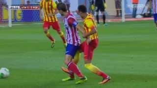 Neymar vs Atletico Madrid HD 720p (21/08/2013)