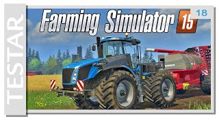 getlinkyoutube.com-Testar Farming Simulator 15 (Swedish)