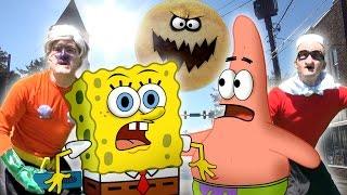getlinkyoutube.com-Spongebob In Real Life Episode 3 - Mermaid Man & Barnacle Boy