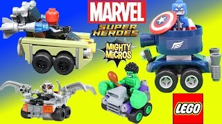 getlinkyoutube.com-Lego Marvel Super Heroes Mighty Micros Captain America vs Red Skull Adventure with Hulk & Ultron!